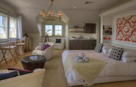 The penthouse suite at the Nantucket Hotel & Resort.